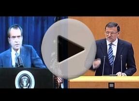 ¿Debería dimitir Rajoy por el caso Bárcenas como hizo Nixon por el Watergate?