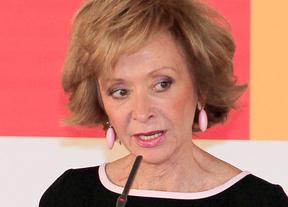 La ex vicepresidenta De la Vega defiende la constitucionalidad del euro por receta