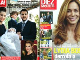 Bautizos, separaciones y reconciliaciones en las revistas del corazón