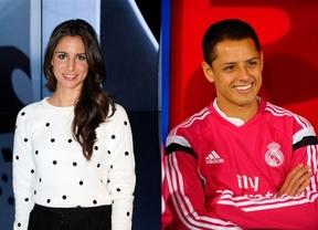 Nuevo romance periodista-futbolista: Lucía Villalón 'ficha' al madridista 'Chicharito'