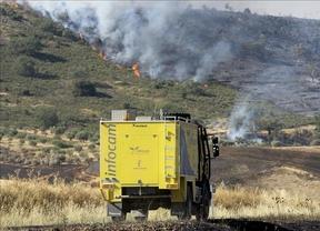 Confían en tener controlado en unas horas el incendio de Guadalajara