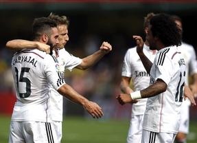 El Madrid impone su pegada ante un Villarreal negado de cara a puerta (0-2)
