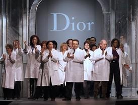 El último desfile de John Galliano para Dior