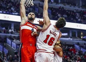 Pau debuta en Chicago Bulls con una gran ovación del público... y derrota en casa ante los Wizards (81-85)