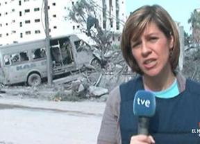 Israel acusa a la corresponsal de TVE de ser