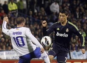 El Madrid se duerme en Zaragoza y no aprovecha el traspiés del Barça (1-1)