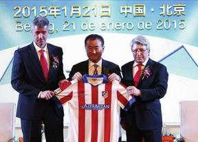 El Atlético ya es más chino que nunca: Wang Jianlin ya ha comprado, por 43 millones, el 20% de la propiedad del club rojiblanco