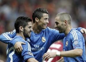 Cristiano Ronaldo festeja a lo grande su renovación; Iker no tanto: 1-6 al Galatasaray
