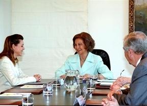 La Reina preside la firma de tres convenios de la Junta de Castilla-La Mancha