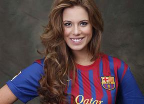 La española que compite en Miss Universo hace 'universal' a su querido Barça