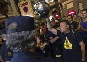 ¿Se están solidarizando los antidisturbios con los manifestantes contra los recortes?