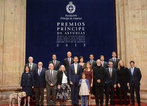 La crisis marca la ceremonia de los Premios Príncipe de Asturias, dentro y fuera de la gala