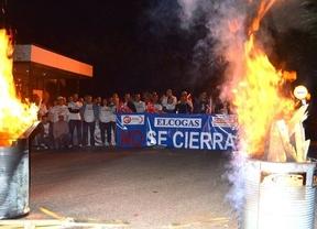 El 100% de los trabajadores de Elcogas secundan la nueva jornada de huelga