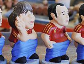 La Roja, Mourinho, Messi y los políticos catalanes, los nuevos 'caganers' para esta Navidad