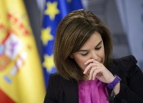 Hasta la vicepresidenta del Gobierno votó en contra de Wert... pero por error