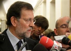 Rajoy ventila los problemas del país en apenas unos minutos y no responde a casi nada