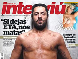 Rafael Amargo desnudo integral en la revista Interviú