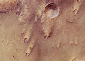 En Marte no hay agua, la tierra es volcánica y el polvo se mueve gracias al viento