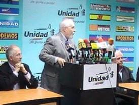 MUD escogerá su candidato antes del 11 de marzo de 2012