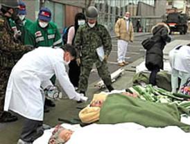 Hallan 2.000 cadáveres en la región de Miyagi