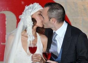 Iniesta vuelve a casarse: ahora por el rito maya