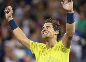 Nadal, tras lidiar a Djokovic, cumple y apuntilla a Raonic y se apunta el Masters 1000 de Canadá