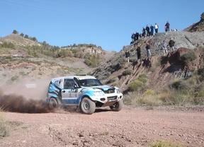 Rubén Gracia se impone con su Mitsubishi Montero en la primera carrera de la temporada