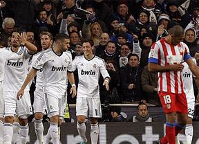 La maldición blanca sigue para el Atleti, que vuelve a arrugarse y a perder ante el Madrid (2-0)