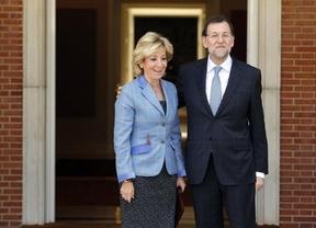 Aguirre destapa la caja de los 'truenos' pidiendo a Rajoy que el Estado recupere competencias autonómicas