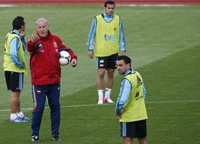 Del Bosque admite ahora que convenció a Xavi para que no se retirara de La Roja antes de la Eurocopa