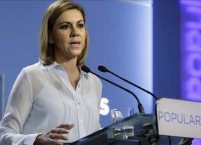 Cospedal marca diferencias con Monago y asegura que no pactaría con Podemos