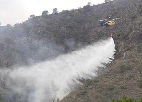 Extinguidos cuatro de los cinco fuegos activos en la región