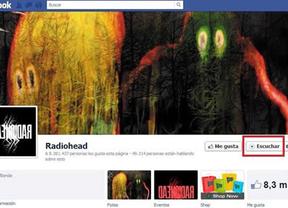 Facebook estrena un botón 'Escuchar' en la biografía de grupos de música