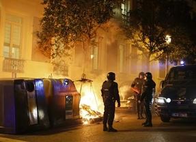 Madrid se llenó también de las llamas y los disturbios tras la rebelión de Gamonal