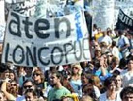 Se realizaron multitudinarias marchas por Fuentealba