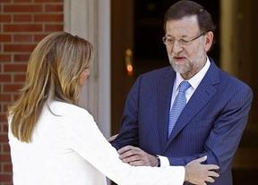 La autoencumbrada 'lideresa' de la oposición, Susana Díaz, hace buenas migas con Rajoy para luchar contra la corrupción
