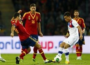 Chile casi se lleva la gloria de ganar a España, pero el amistoso acabó en empate (2-2)