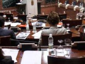 Moción social de IU en la Asamblea Regional