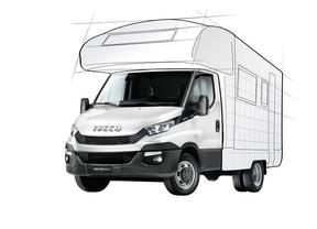 Iveco mostrará la versión autocaravana del Daily en el Caravan Salon de Düsseldorf