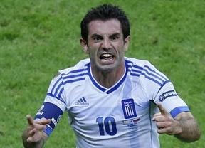 Eurocopa 2012. Un gol de Karagounis, nuevo mito helénico... futbolero, mete a Grecia en los cuartos y hunde a Rusia (1-0)
