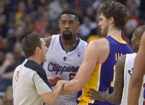 Lo que faltaba a unos Lakers en caída libre: Pau Gasol se lesiona y puede ser baja varios partidos