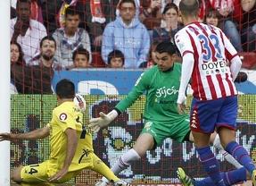 El Villarreal deja al Sporting con pie y medio en Segunda (2-3)