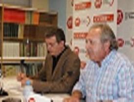 Reunión informativa de los sindicatos CCOO, STERM Y UGT en Águilas