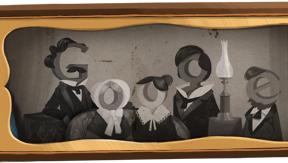 Un 'doodle' para Louis Daguerre, padre de la fotografía