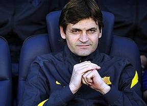 Vilanova, tan humilde como Guardiola: