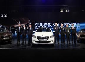 Presentación del Peugeot 301 en China