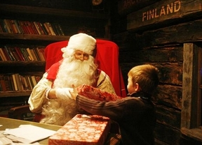 La mejor foto de Papa Noel vale un viaje a Laponia