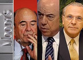 Santander, BBVA y CaixaBank salvan con buena cara la paliza de Moody's a España