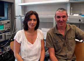 Lydia Jiménez y Juan Navarro, autores del estudio