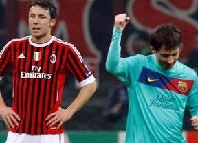 Horario AC Milan - Barça: gran choque de históricos en la Champions (20:45, Canal +)